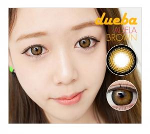 dueba(G&G)社/ ADELA カラコン/ ブラウン カラコン/ 度あり カラコン/14.5mm/6ヶ月/426