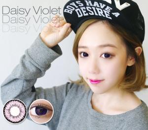 [バイオレット カラコン/VIOLET] デイジK17バイオレット Daisy K17 Violet 15mm / 715