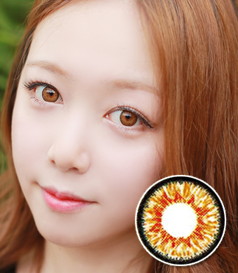 Dueba /D-TY  twinklestar brown /14.0mm /  1121