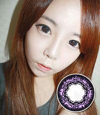 【1年カラコン】VASSEN TA64 Violet / 033</BR>DIA:15.0mm, 度なし