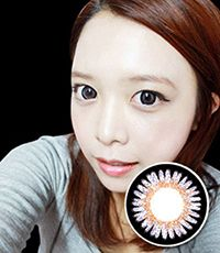 【1年カラコン】 Colorpopteen 3-tone color Violet / 116</BR>DIA:14.5mm, 度なし