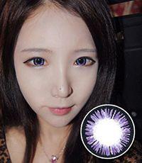【3ヶ月カラコン】 Aurora Violet / 146 </BR>DIA:14.5mm, 度あり‐10.00ま