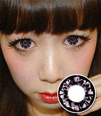"<FONT COLOR=""4697f2""> [ Lucky!  ¥990]</FONT>【1年カラコン】 Ashley Violet / 086</BR>DIA:14.5mm, 度なし"