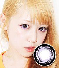 【1年カラコン】PP18 Violet / 179</BR>DIA:14.5mm, 度なし