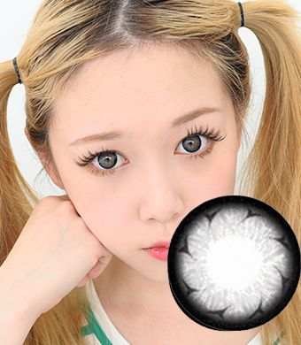 【1年カラコン】Rachel(Y33) Gray / 173</BR>DIA:14.3mm, 度なし