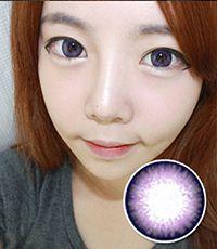 【1年カラコン】Dali Extra Violet / 052</BR>DIA:14.0mm, 度あり‐10.00まで