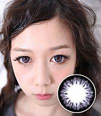 【1年カラコン】Bella(e22) Violet / 223</BR>DIA:14.5mm, 度あり‐8.00まで