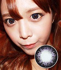 【1年カラコン】K5 Violet / 236</BR>DIA:15.0mm, 度なし