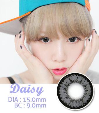 【1年カラコン】Daisy K17 Gray / 712</BR>DIA:15.0mm, 度あり‐10.00まで