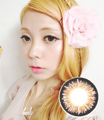 【1年カラコン】Coco 3-tone color Heizle / 153</BR>DIA:14.5mm, 度なし