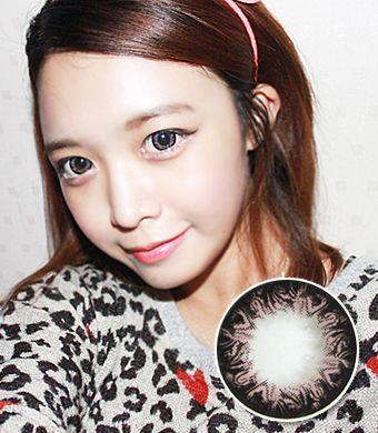 【1年カラコン】K5 Pink / 225</BR>DIA:15.0mm, 度なし
