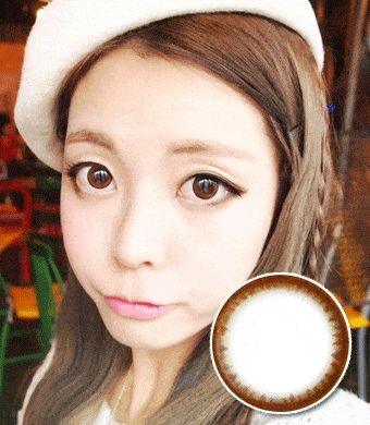 【乱視/6ヶ月カラコン】 pearl natural choco toric / 262 </br> DIA:14.0mm, G.DIA:13.5mm