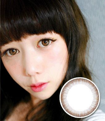 【乱視/6ヶ月カラコン】 Monet Brown toric / 292</br> DIA:14.0mm, G.DIA:13.7mm