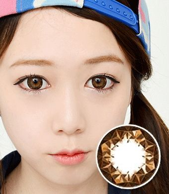 【乱視/12ヶ月カラコン】Ruby queen Brown Toric / 428 </br> DIA:14.0mm, G.DIA:13.8mm