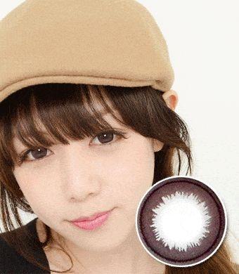【遠視/6-12ヶ月カラコン】Su Choco / 1329</br>DIA:14.0mm, 度あり+8.00まで
