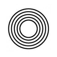 【 黒】NO.120 ブラックスパイラル 白/ブラック/  405