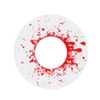 度あり ブラッドショットドロップス 白 ゾンビ funky Bloodshot drops  /863