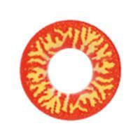 ウルフ レッドイエロー 赤/黄色   funky Wolf Red yellow  /893