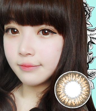 【乱視/12ヶ月カラコン】FC-724 brown toric / 1094 </br> DIA:14.0mm, G.DIA:13.3mm