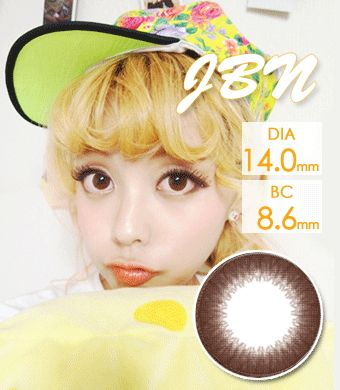 【乱視/12ヶ月カラコン】JBN-103 brown toric / 1097 </br> DIA:14.0mm, G.DIA:13.6mm