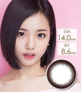 【1年カラコン】Diamant Nut Brown / 1139 </BR>DIA:14.0mm,14.5mm, 度あり‐10.00まで