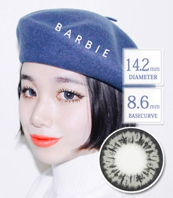 【乱視/12ヶ月カラコン】 Barbie Gray toric / 1381</br>DIA:14.2mm, G.DIA:13.7mm