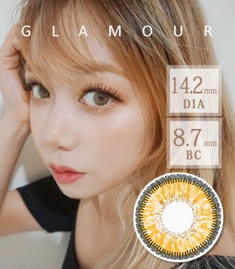 【3ヶ月カラコン】 Inno Color 3-Tone glamour Hazel / 1409</BR>DIA:14.2mm, 度あり‐10.00まで
