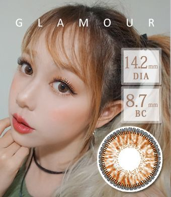 【3ヶ月カラコン】 Inno Color 3-Tone glamour brown / 1429</BR>DIA:14.2mm, 度あり‐10.00まで