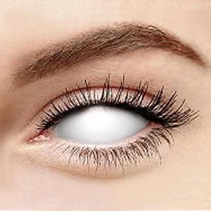 スクレラレンズ 全眼カラコン White Blind Sclera 2227 / 22mm / 1488