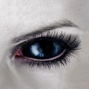 スクレラレンズ  全眼カラコン Black Blind Sclera 2202 / 22mm / 1489