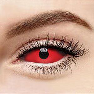 スクレラレンズ 全眼カラコン Red Sclera 2211 / 22mm / 1491