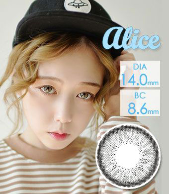 【乱視/6ヶ月カラコン】Alice  BT toric Gray /828 </br> DIA:14.0mm, G.DIA:13.8mm