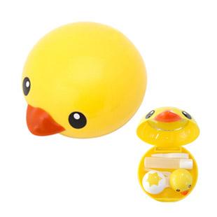 【レンズケース】 Yellow Duck Contact Lens Case / 1510