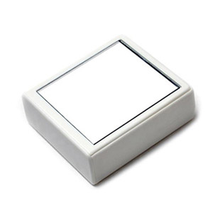 【レンズケース】 Mirror Ivory Contact Lens Case / 1526