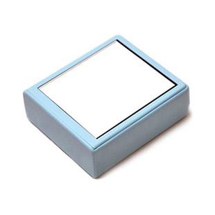 【レンズケース】 Mirror Blue Contact Lens Case / 1527