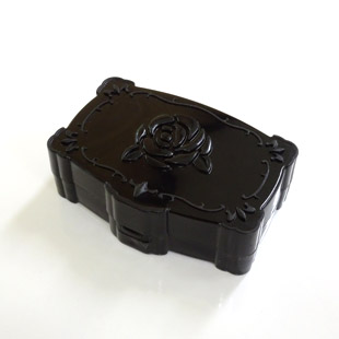 【レンズケース】 Annasui Black Contact Lens Case / 1529