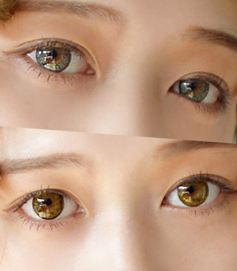 【ベスト2セット/乱視】 Alice BT Gray + Brown <br> DIA:14.0mm, G.DIA:13.8mm