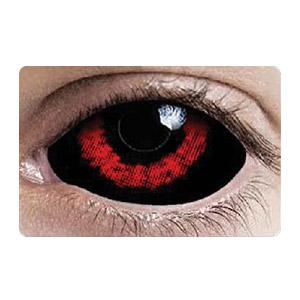 スクレラレンズ 全眼カラコン Red Ghoul Sclera 2220 / 22mm / 1541