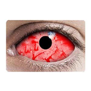 スクレラレンズ 全眼カラコン Red Zombie Sclera 2242 / 22mm / 1548