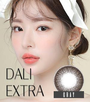 【1年カラコン】 ダリエクストラ グレー /Dali Extra Gray / 049</BR>DIA:14.0mm, 度あり‐15.00まで