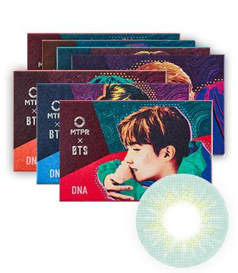 【1ヶ月】防弾少年団 DNAデスティニーマンスリーBTS DNA DESTINY Light Blue / 1566