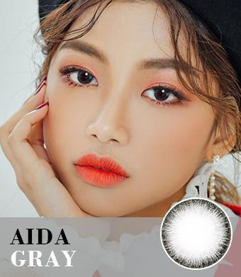【乱視/6-12ヶ月カラコン】AIDA Gray Toric / 1043 </br> DIA:14.0mm, G.DIA:13.4mm