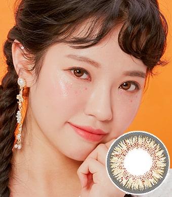 【1ヶ月】アイズオンユー・ブラウン(Eyes on You Brown) / 1591