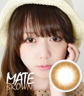 【1ヶ月シリコンハイドロゲル】メイトブラウン/ Mate Brown/ 1602</BR>